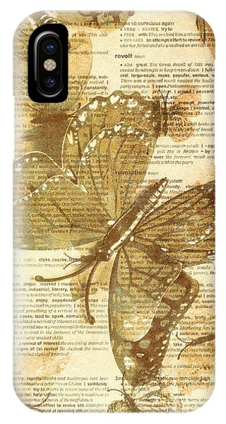 Moth iPhone Case - Butterfly Antiquities by Jorgo Photography - Wall Art Gallery