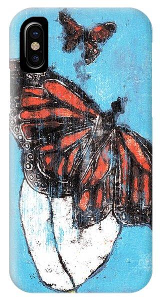 Butterfly Garden Summer 1 IPhone Case