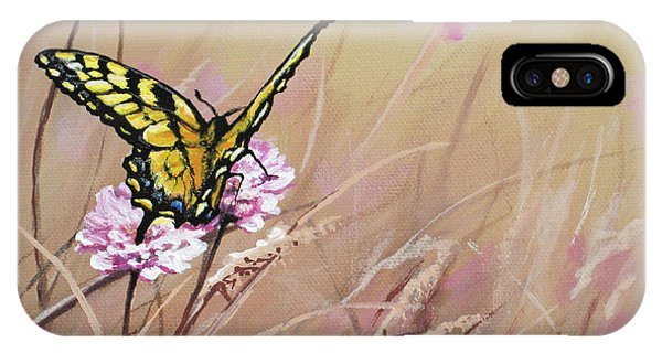 Butterfly Meadow - Part 1 IPhone Case