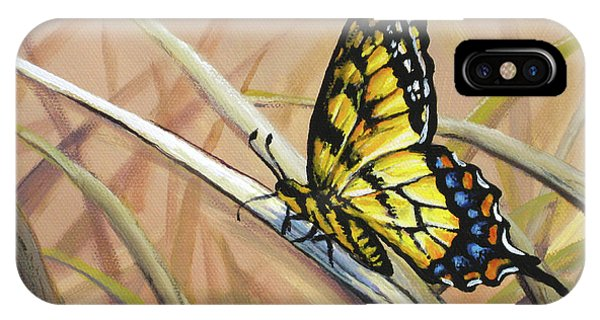 Butterfly Meadow - Part 2 IPhone Case