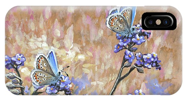 Butterfly Meadow - Part 3 IPhone Case