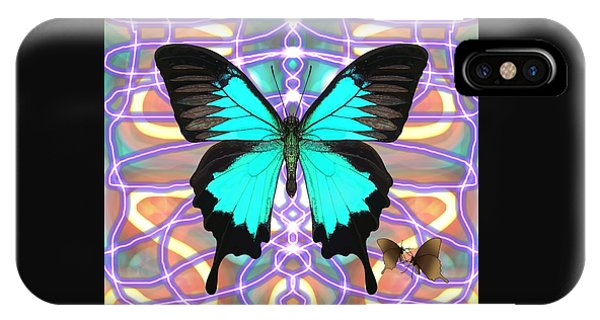iPhone Case - Butterfly Patterns 20 by Joan Stratton