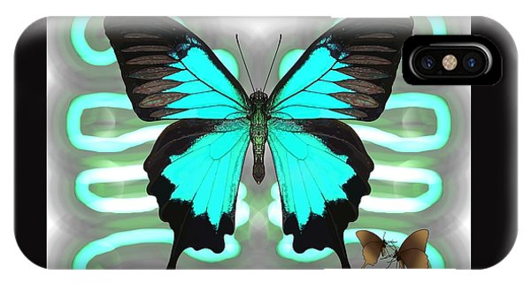 iPhone Case - Butterfly Patterns 24 by Joan Stratton
