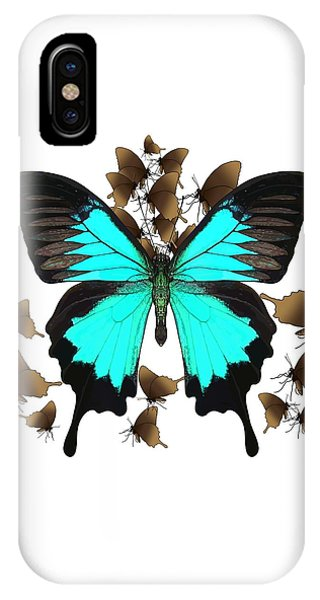 Ulysses Butterfly All A Flutter IPhone Case