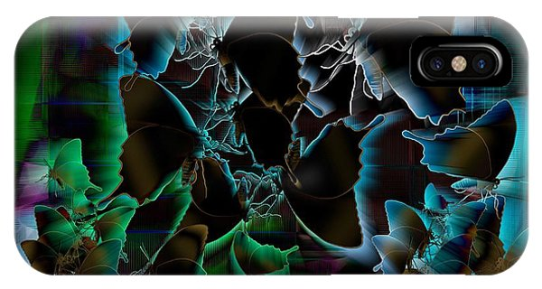 iPhone Case - Butterfly Patterns 5 by Joan Stratton