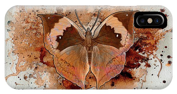 Butterfly Splash IPhone Case