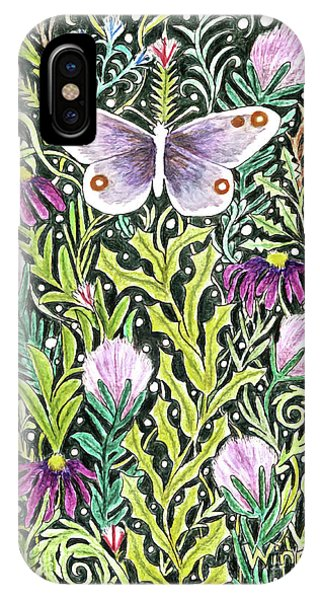 Butterfly Tapestry Design IPhone Case
