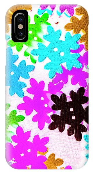 Colourful iPhone Case - Button Blizzard by Jorgo Photography - Wall Art Gallery