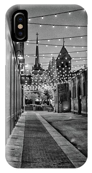 Bw City Lights IPhone Case