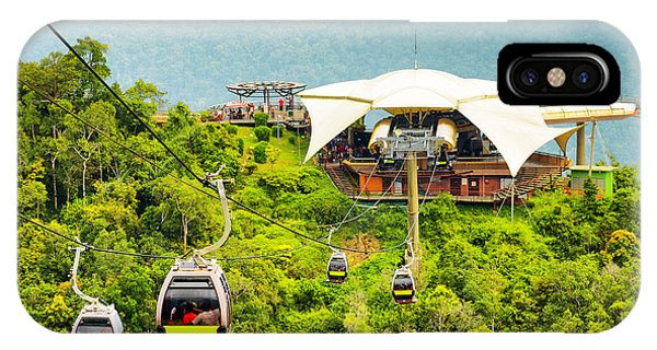 Cable Car On Langkawi Island, Malaysia Phone Case by Efired