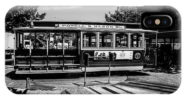 Cable Car Turn Around IPhone Case