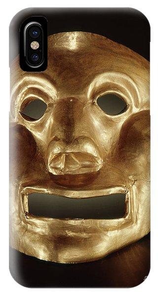 Peru iPhone Case - Calima Mask  by Peruvian School