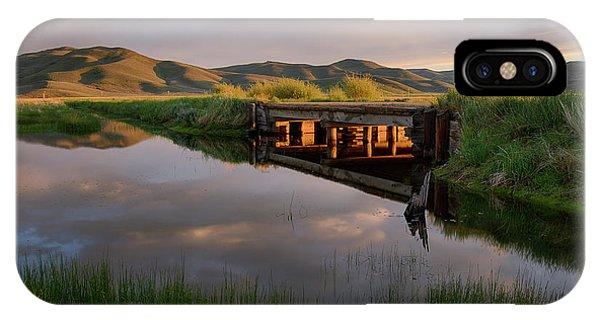 Centennial Bridge iPhone Case - Camas Creek by Idaho Scenic Images Linda Lantzy