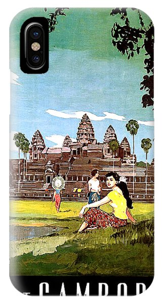 Cambodia iPhone Case - Cambodia by Long Shot