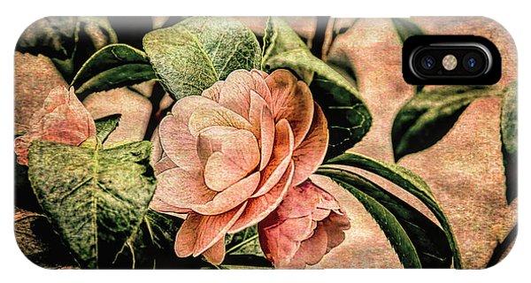 Camellia Grunge IPhone Case