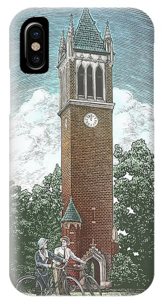 Campanile 1928 IPhone Case