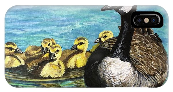 Canadian Goise And Goslings IPhone Case