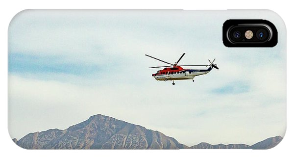 IPhone Case featuring the photograph Canadian Helicopters Sikorsky S61n C-gjqg by SR Green