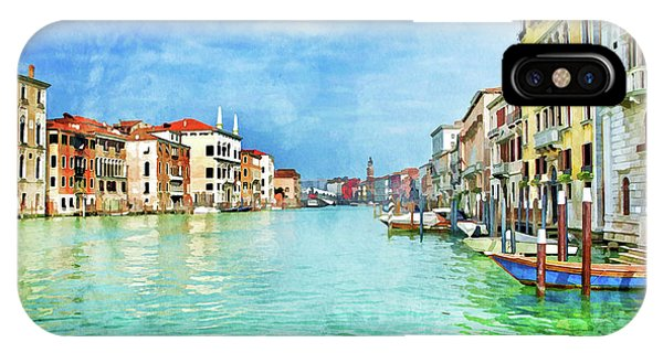 Palace iPhone Case - Canal Grande by Delphimages Photo Creations