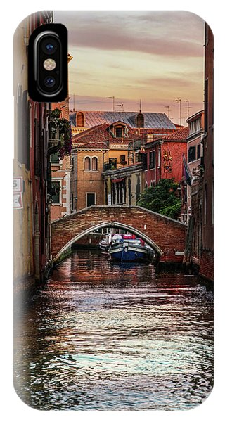 iPhone Case - Canals Of Venice by Jaroslaw Blaminsky
