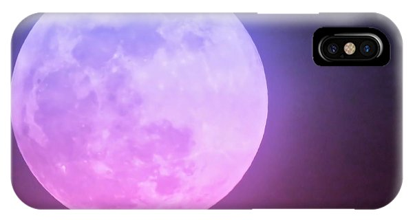 Cancer Super Wolf Blood Moon Near Eclipse IPhone Case