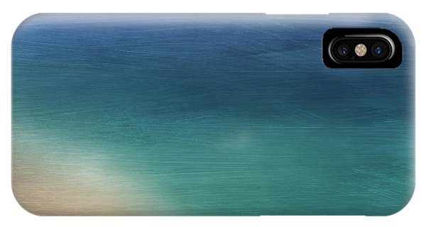 Teal iPhone Case - Cancun Coast- Art By Linda Woods by Linda Woods