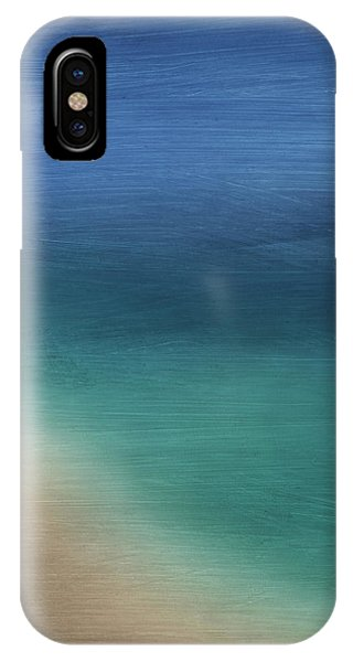Sky iPhone Case - Cancun Coast- Art By Linda Woods by Linda Woods