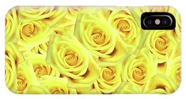 Candlelight Roses IPhone Case