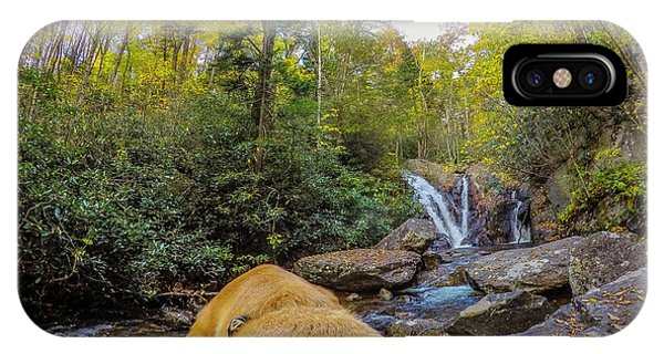 IPhone Case featuring the photograph Canin Creek Falls by Matthew Irvin