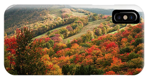 Cannon Mountain Fall Foliage IPhone Case