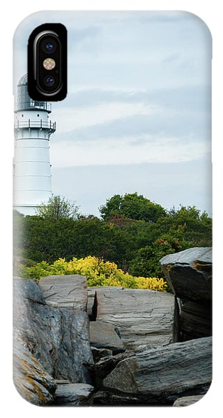 Cape Elizabeth Light IPhone Case