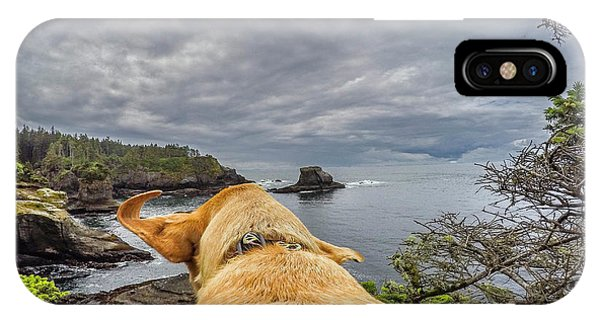 IPhone Case featuring the photograph Cape Flattery By Photo Dog Jackson by Matthew Irvin
