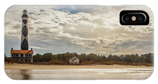 Cape Lookout Lighthouse No. 3 IPhone Case