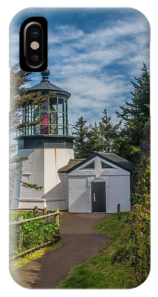 Cape Mereas Lighthouse IPhone Case