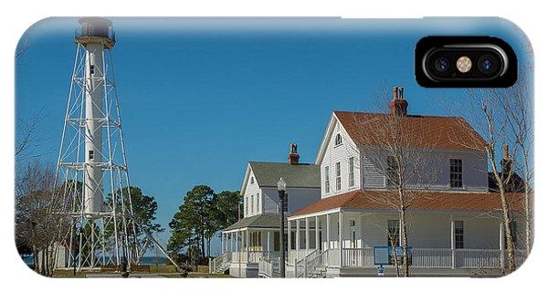Cape San Blas Lighthouse IPhone Case