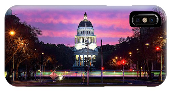 Capital Sunrise IPhone Case