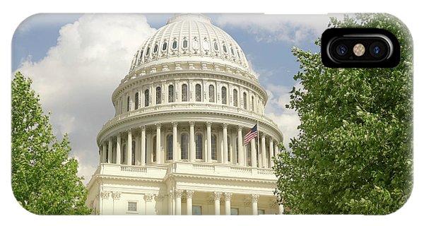 Capitol Building iPhone Case -  Capitol Building Washington Dc 2  by Edward Fielding