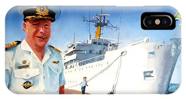 Capt Glen Hallett IPhone Case