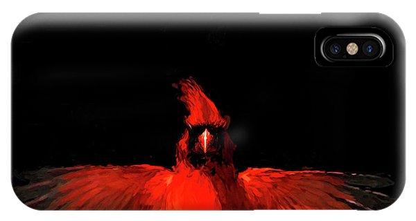 Cardinal Drama IPhone Case