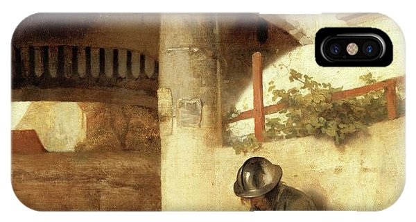 Gateway Arch iPhone Case - Carel Fabritius The Gate Guard/the Sentry, 1654. Painting. Oil On Canvas. by Carel Fabritius