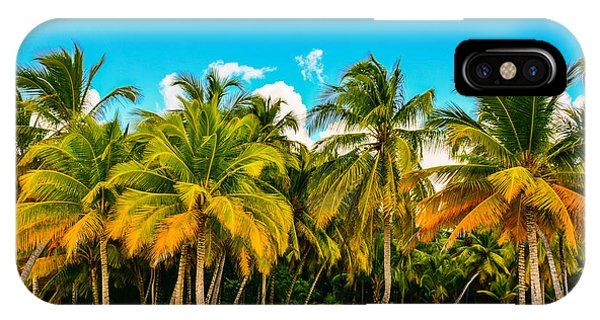 Beautiful Sunrise iPhone Case - Caribbean Landscape With A Clear Sky by Marco Bicci