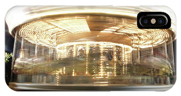 IPhone Case featuring the photograph Carousel  by Edward Lee