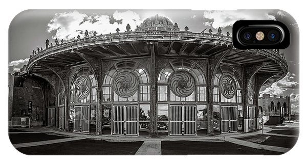 IPhone Case featuring the photograph Carousel House by Steve Stanger