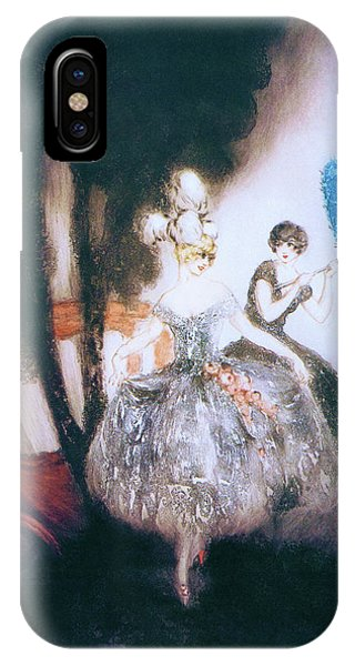 Accident iPhone Case - Carriage - Digital Remastered Edition by Louis Icart