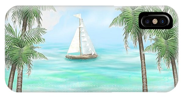 Carribean Bay IPhone Case