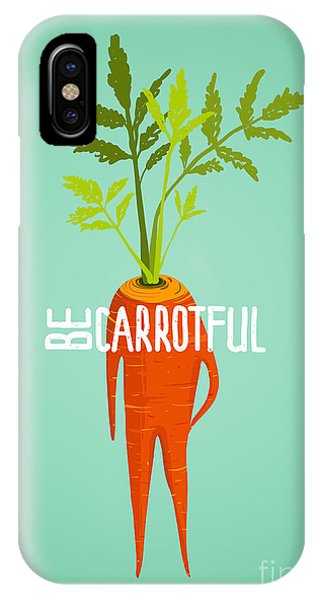 Ingredient iPhone Case - Carrot Diet Colorful Inspirational by Popmarleo