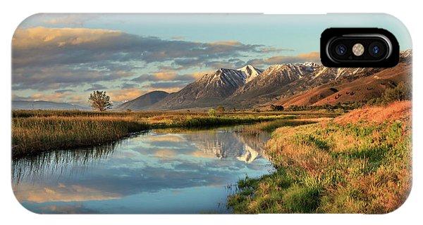 Carson Valley Sunrise IPhone Case