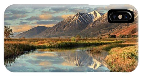 Carson Valley Sunrise Panorama IPhone Case