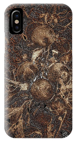 Carved Apples IPhone Case