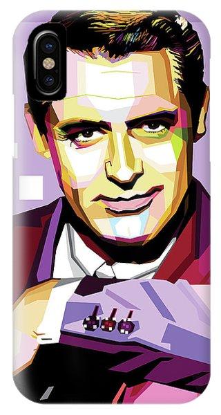Cary Grant Pop Art IPhone Case